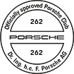 Officially approved Porsche Club 262